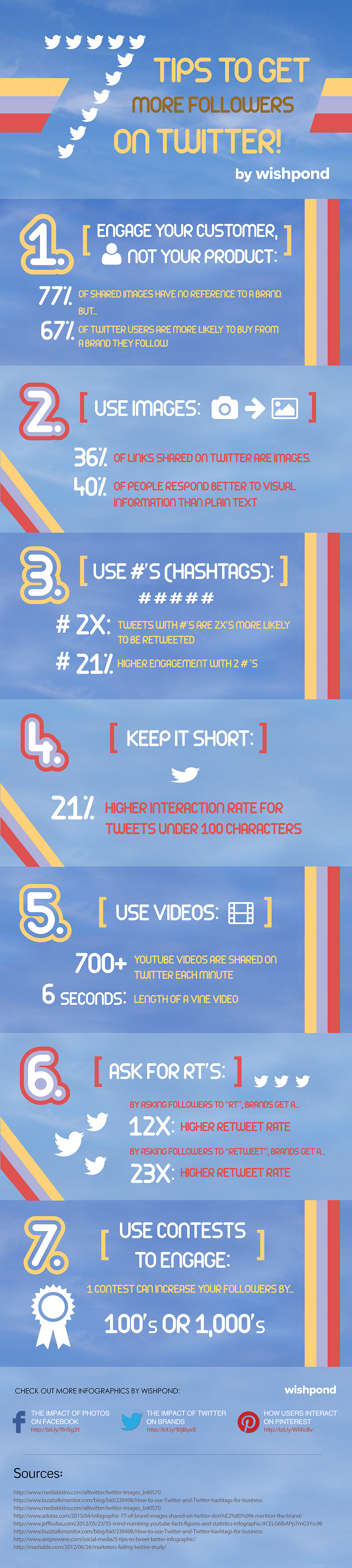 Infographic 7 Tips to Get More Followers on Twitter