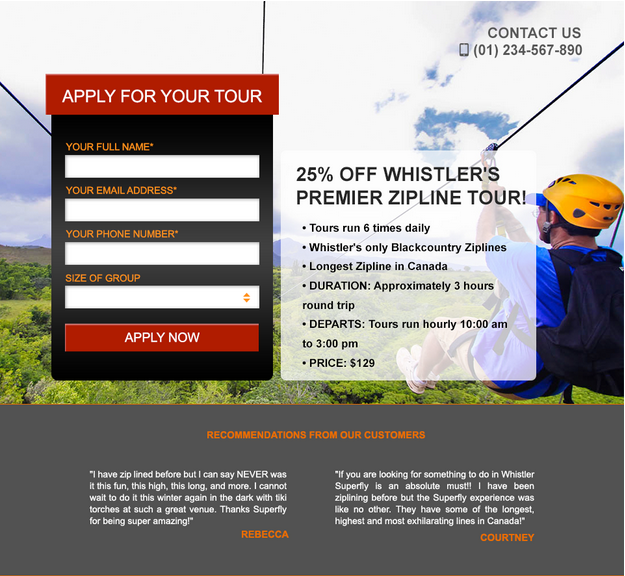 Landing Pages for Travel Marketers: A Free Guide