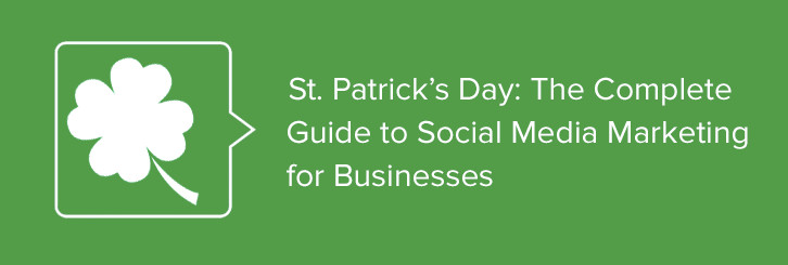 St. Patrick's Day Marketing Ebook
