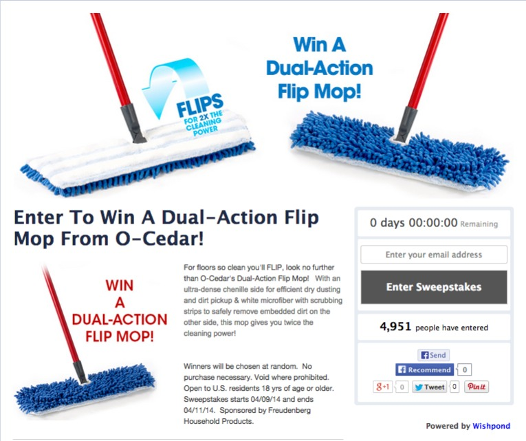 contest prize idea