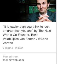 Pinterest Boris Zanten