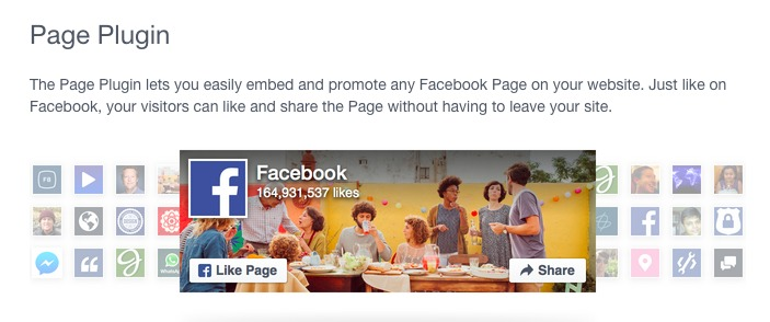facebook page embed