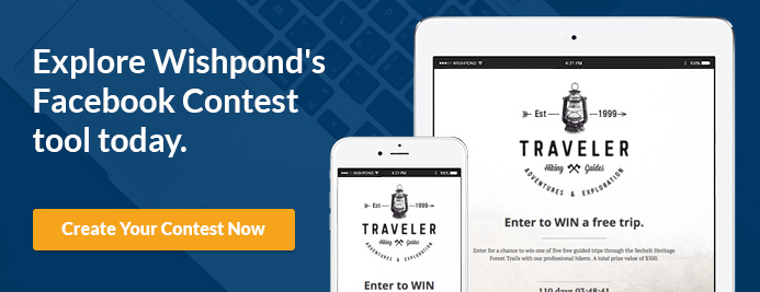 wishpond facebook contest